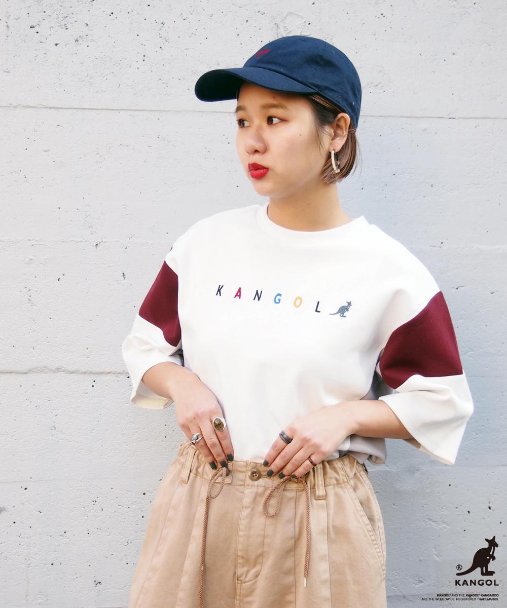 KANGOLコラボブロッキングTシャツ【8163-9106】