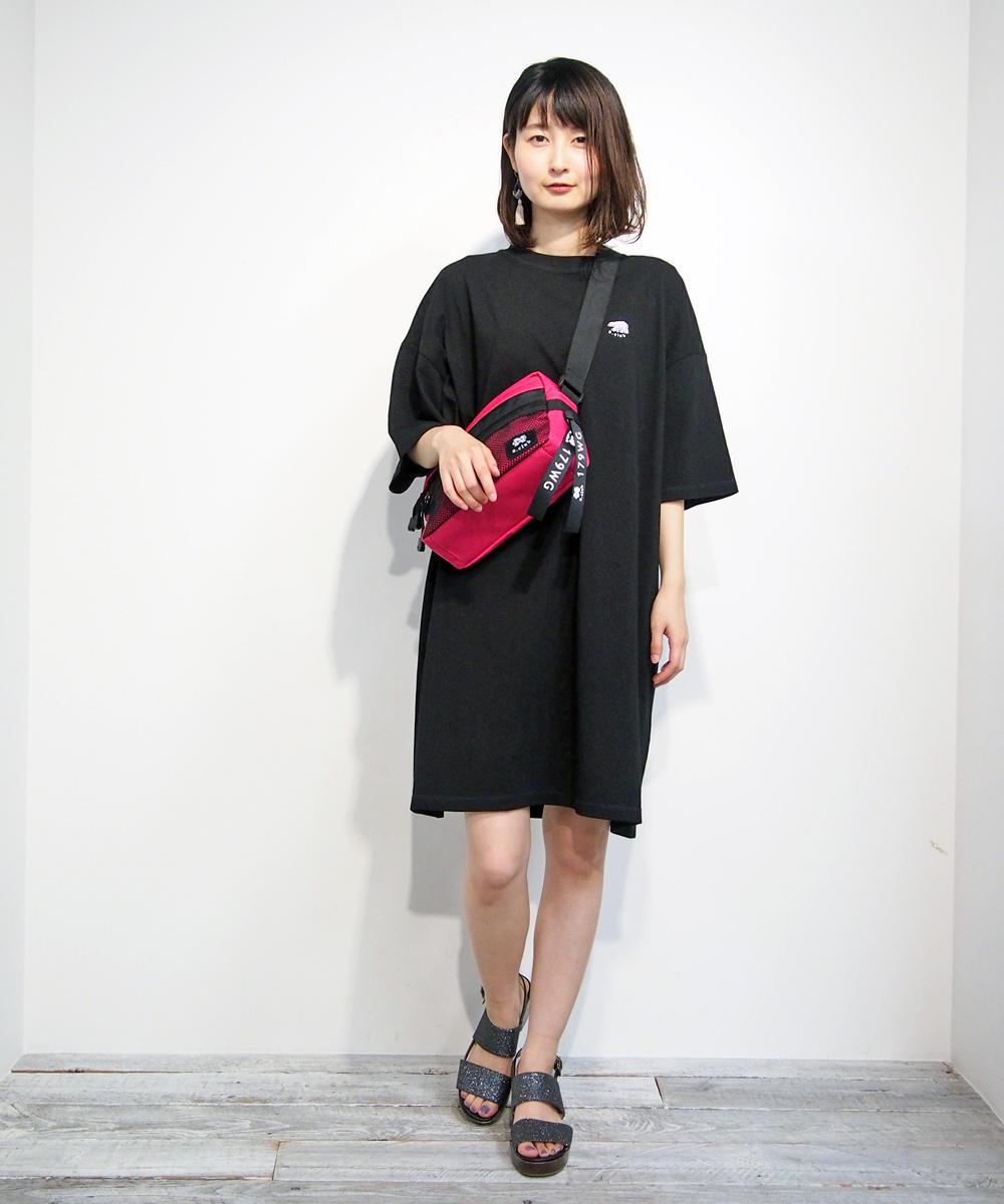 白くま刺繍ワンピース【8263-1307】