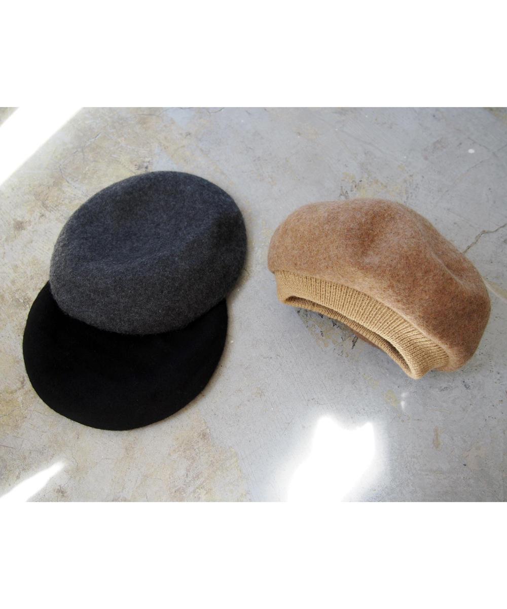 ウールベレー帽【8463-7708】