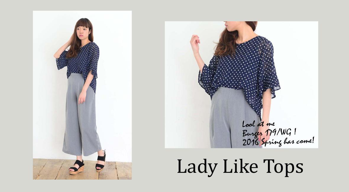 Lady Like Tops