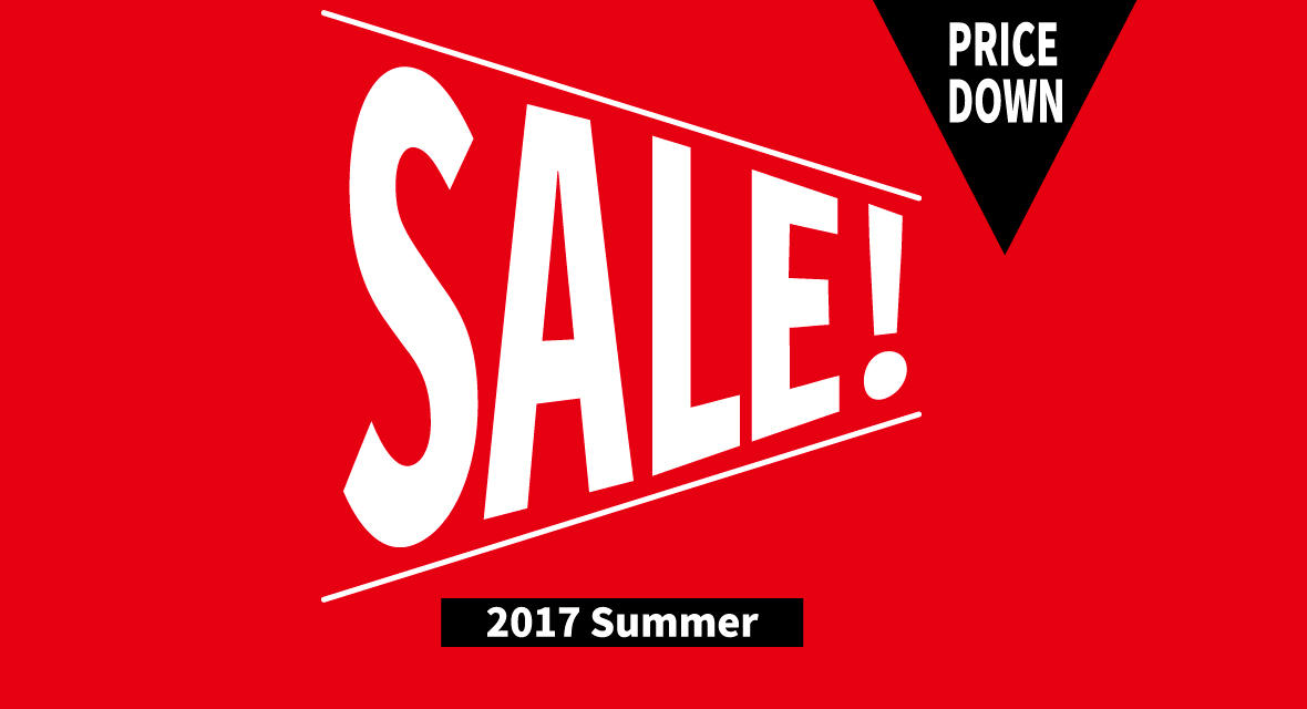 SUMMER SALE 最大50%OFF全店で開催!!