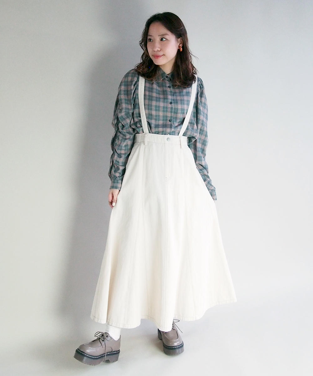 ロングマーメイドスカート【1163-0201】