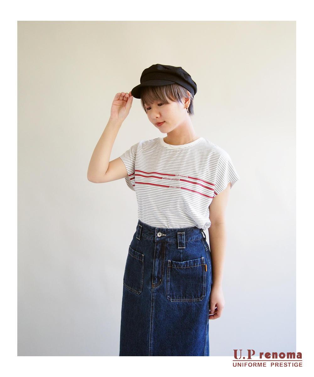 U.P renomaコラボラインTシャツ【9263-9007】
