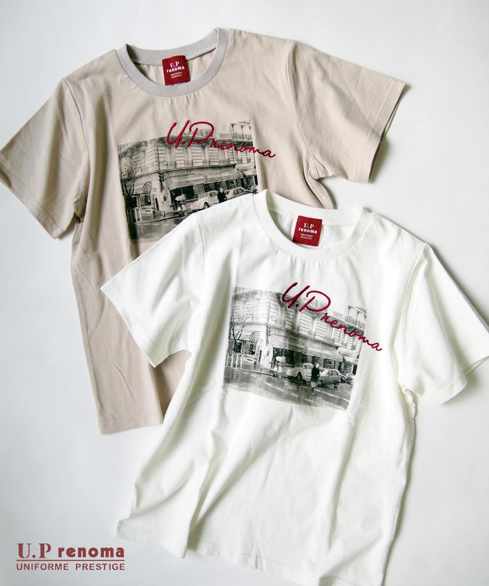 U.P renomaコラボフォトプリントTシャツ【9263-9009】