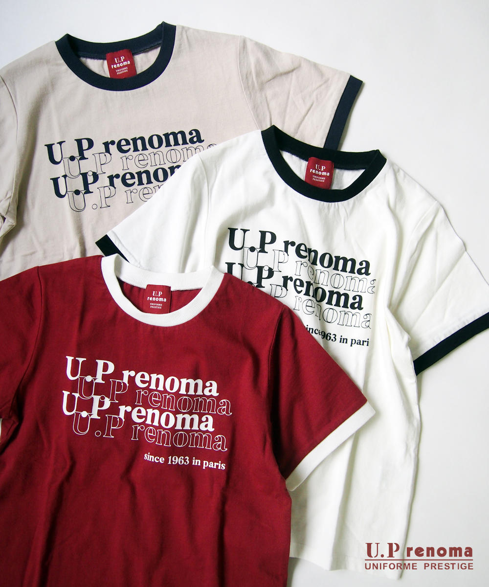 U.P renomaコラボリンガーTシャツ【9263-9008】