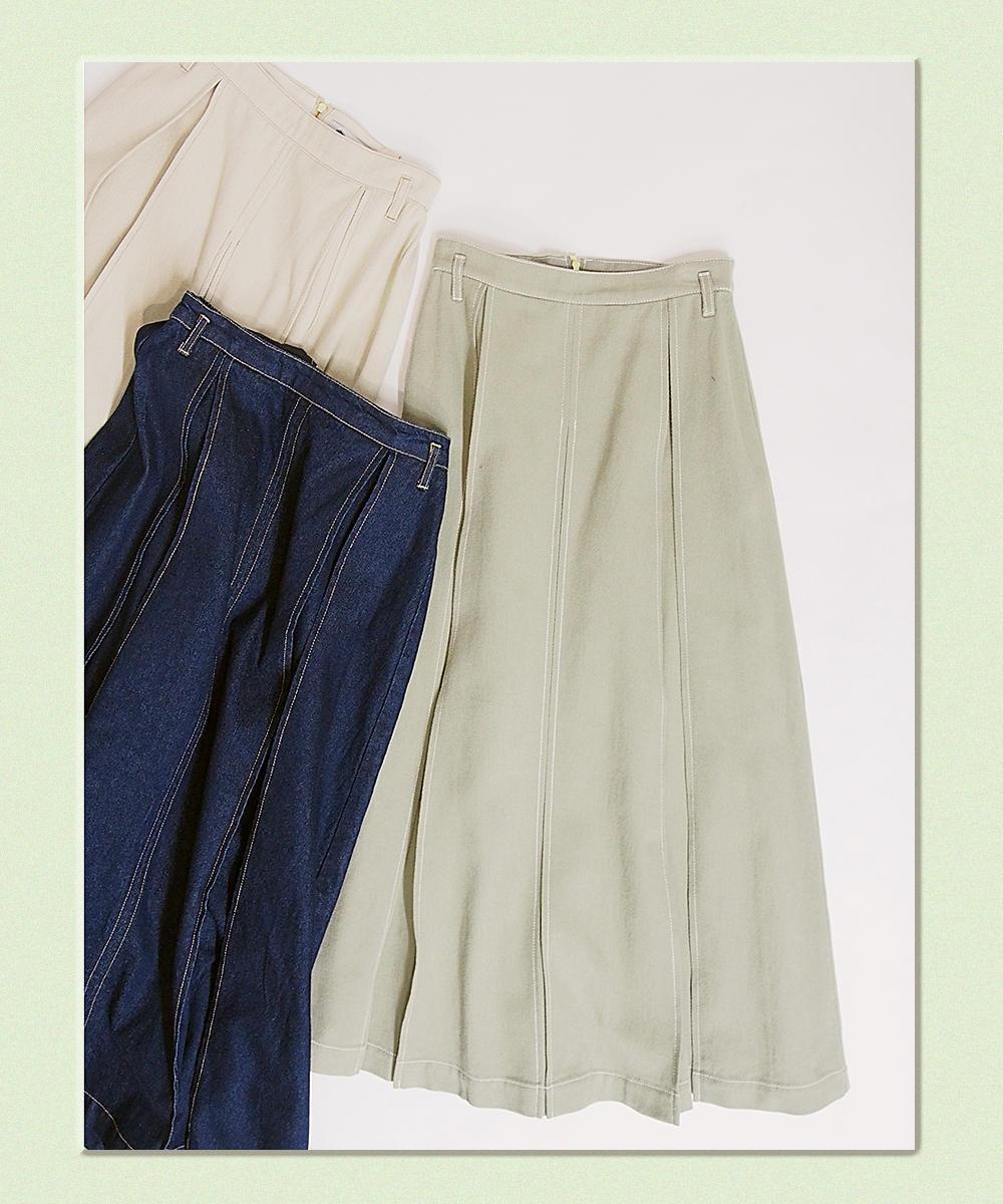 ロングスカート【0263-0208】