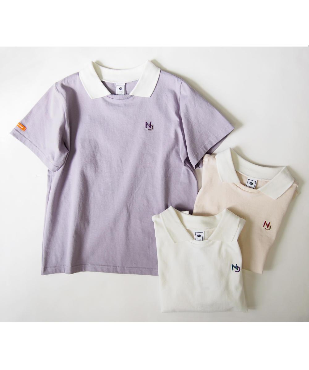 衿つきTシャツ【9263-9015】