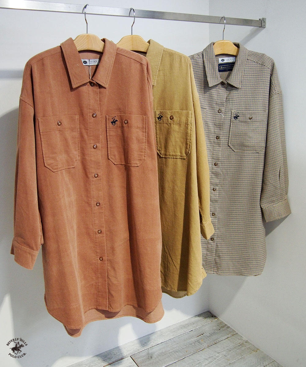 BEVERLY HILLS POLO CLUBシャツワンピース【9463-1110】